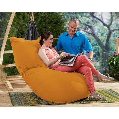 Yogibo Small Bean Bag Chair & Lounger Upholstery: Summer