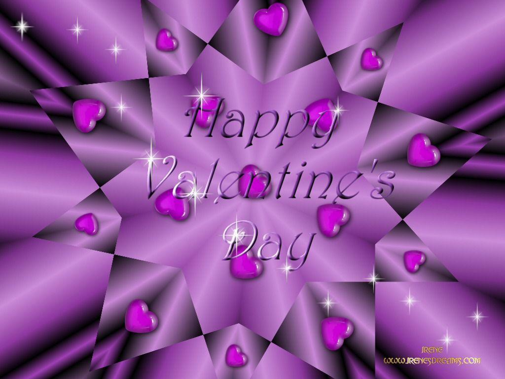 Valentine's Day Screensavers Free valentine purple