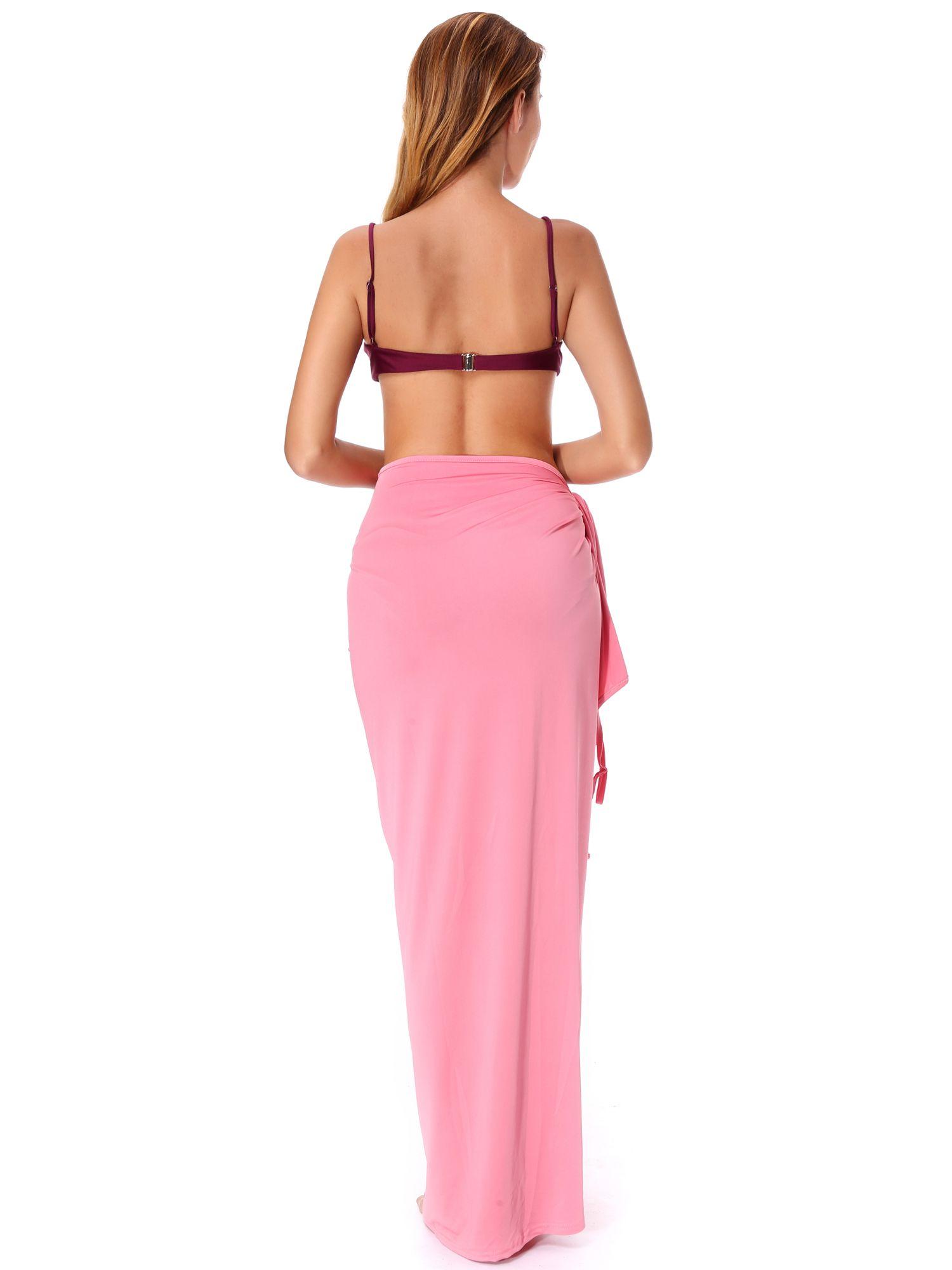 83c7e2f413adf SAYFUT Juniors  Beach Cover up Bikini Bathing Suits Sexy Spaghetti Strap Bikini  Wraps Plus Size