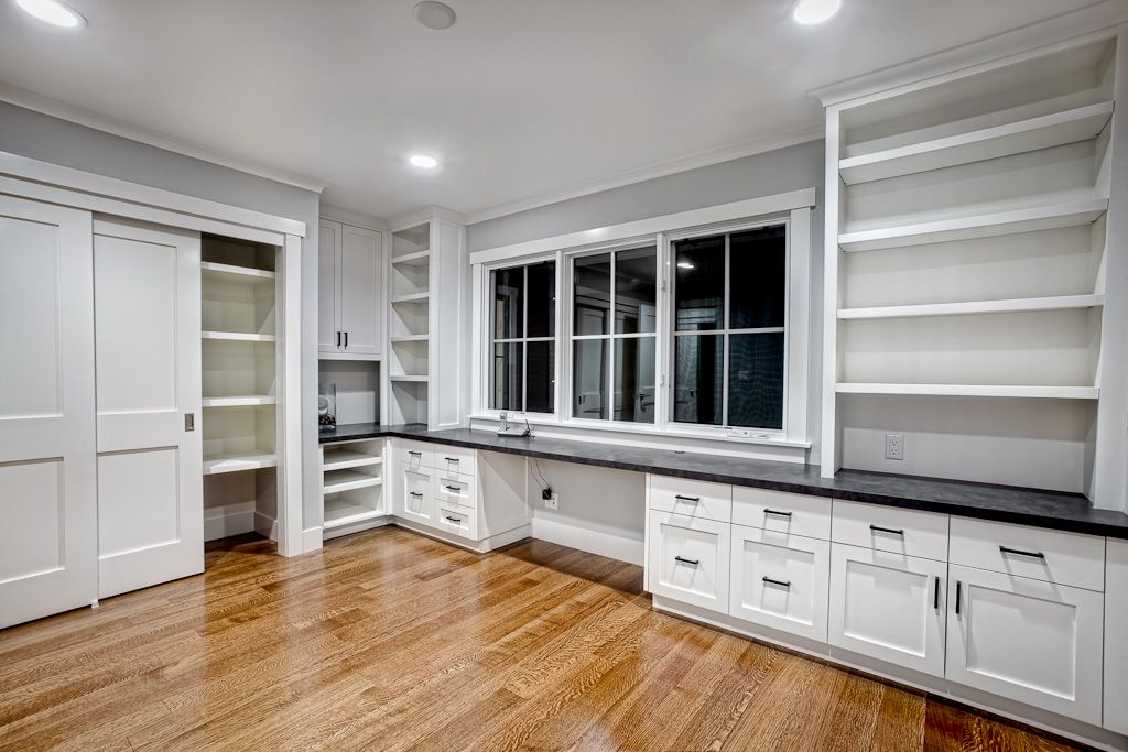 Enjoyable Built In Desk And Cabinets Griffin Custom Cabinets Office Largest Home Design Picture Inspirations Pitcheantrous