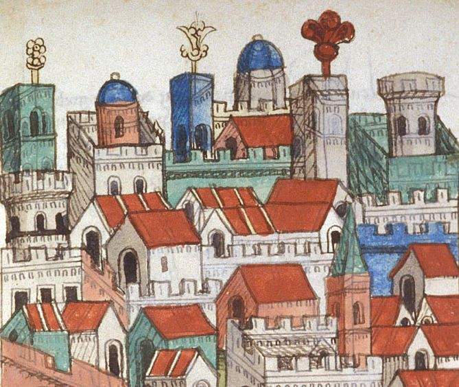 Journey from Venice to Palestine, Mount Sinai and Egypt (ca. 1467)