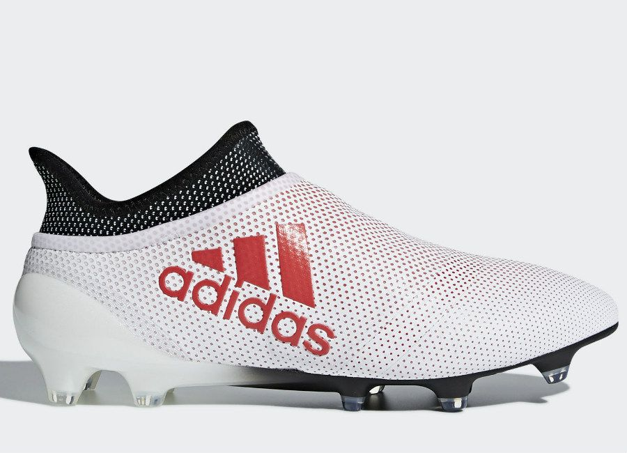 save off ae5ee e8f96  football  soccer  futbol  adidasfootball  adidassoccer Adidas X 17+  Purespeed FG Cold Blooded - Grey   Real Coral   Core Black