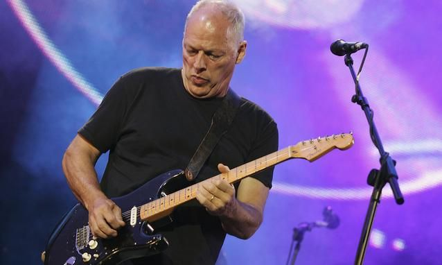 David Gilmour  Credits: Getty Images