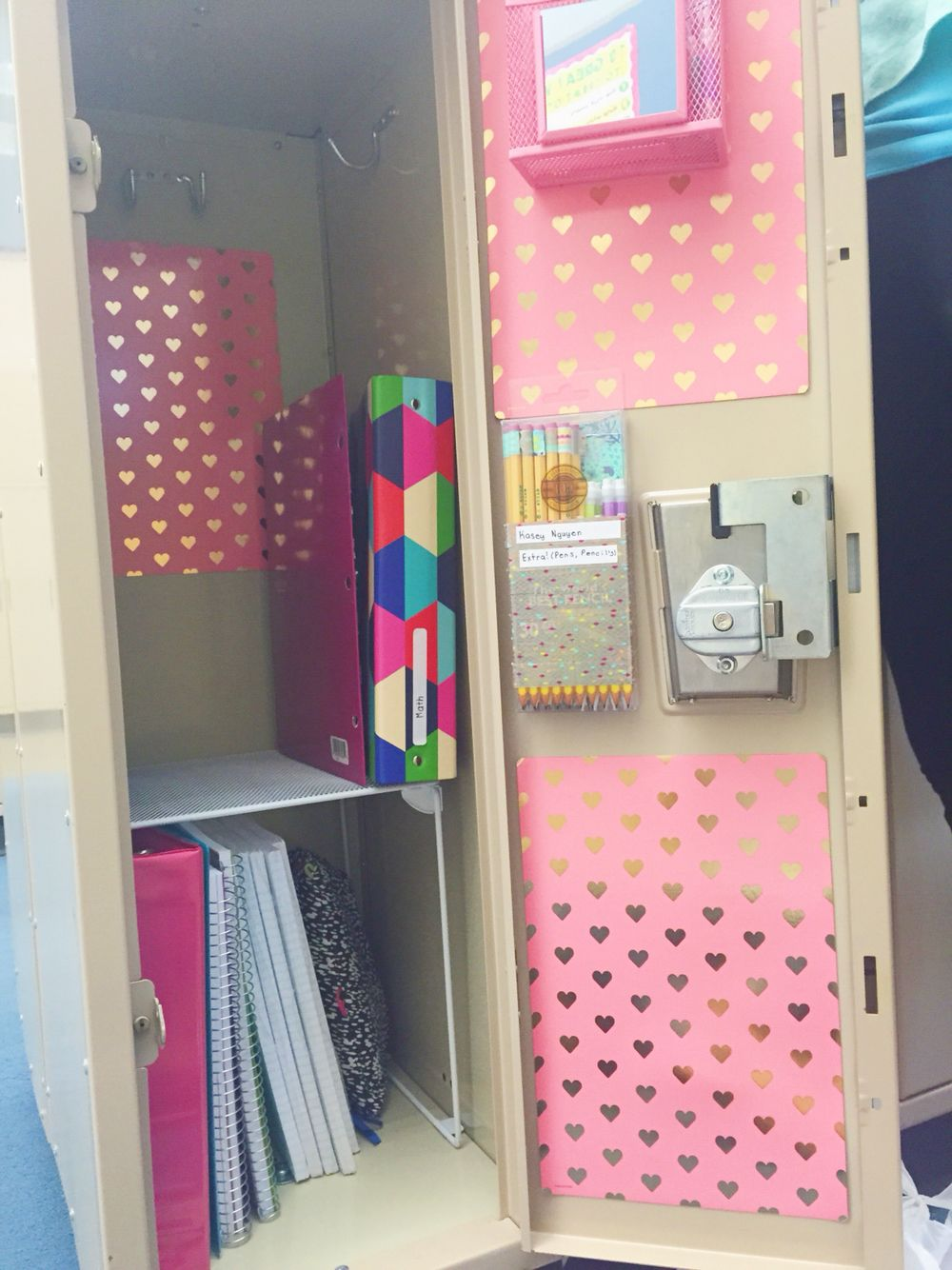 Locker Ideas 15 super-cute ways to deck out your locker this year | lockers