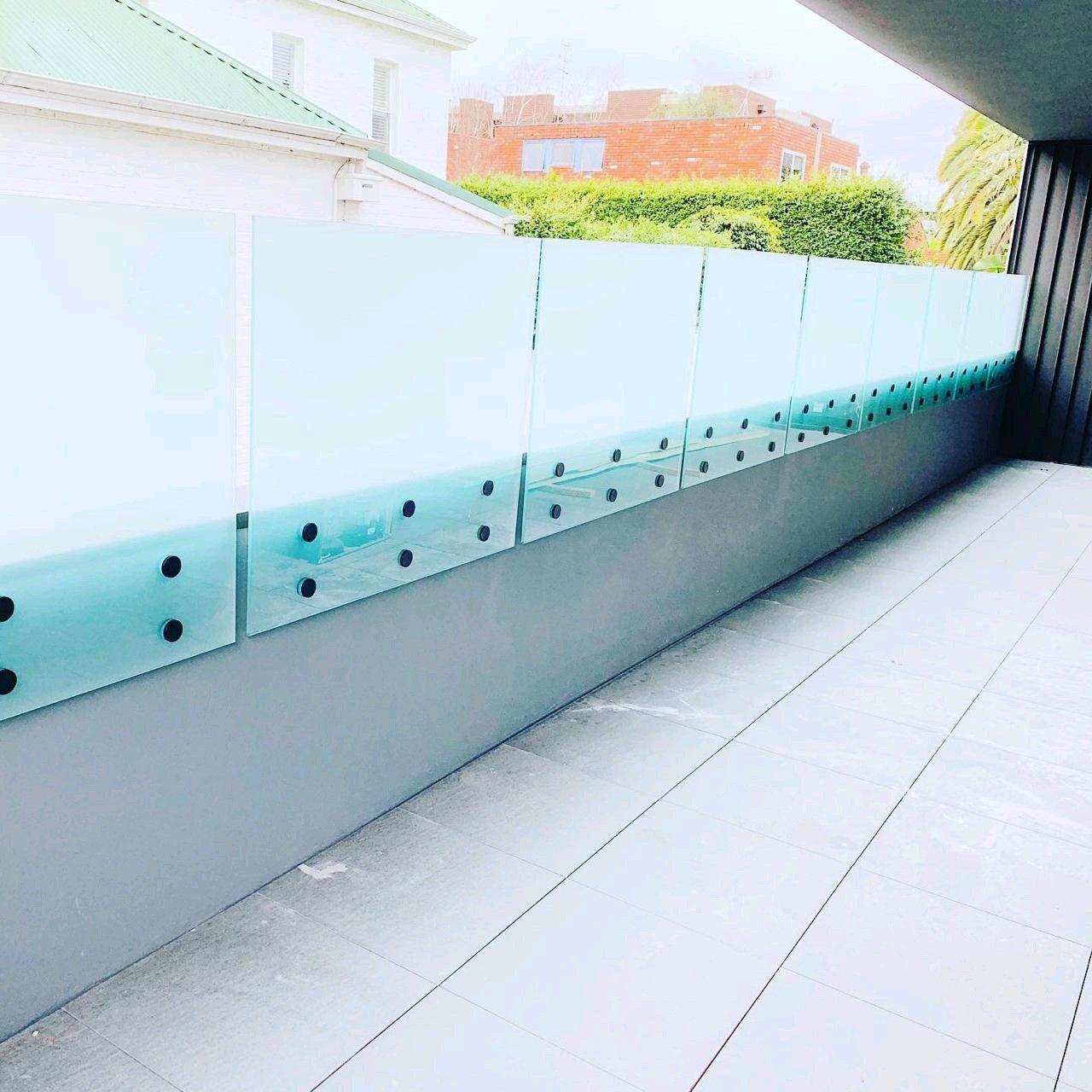 Best Standoff Glass Railing Railing Design Glass Railing 400 x 300