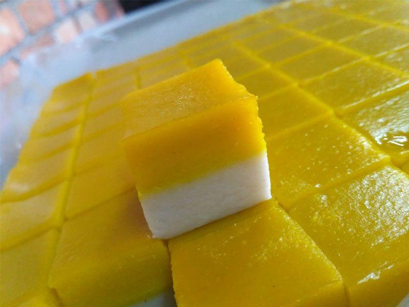 Resepi Talam Durian Chef Asma Asian Desserts Durian Food