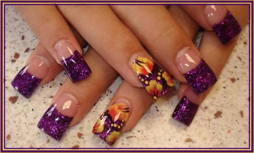 Purple nail designs Nails 2 die for www.nails2diefor.com | Nails ...