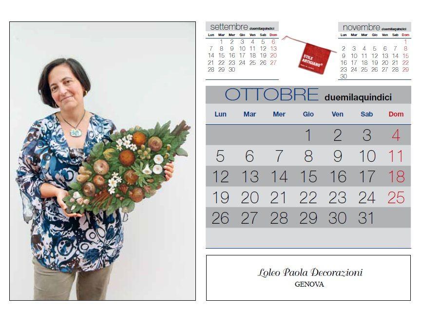 Ottobre:...melograni e agrumi ottimi frutti autunnali dipinti dalle sapienti mani di Paola Loleo di Loleo Decorazioni di Genova Ph. Foto Studio Azais - Finale Ligure