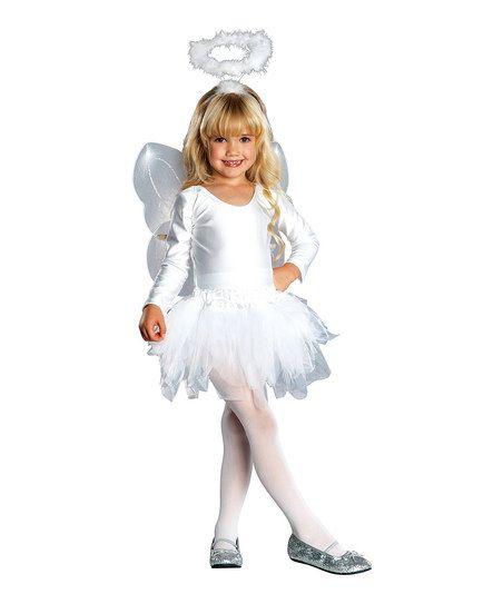 Rubies Angel Dress-Up Outfit - Toddler  Girls zulily Halloween - angel halloween costume ideas
