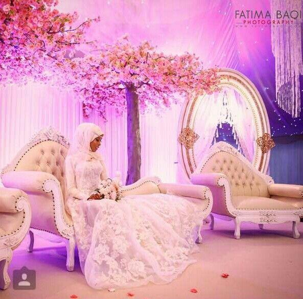 Stunning photography of hijabi - BASMA K - on her wedding