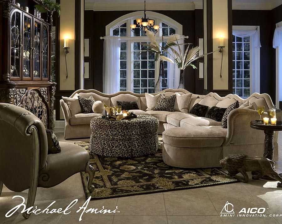 Aico Desks Toledo Collection Sofa Sectional Add A Touch Of Class