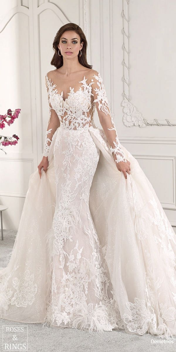 demetrios bridal 2019 wedding dresses   novias 2019   pinterest