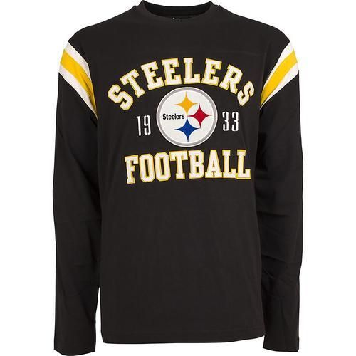 NFL Lateral Long Sleeve Tee Mens - Pittsburgh Steelers - Medium ... a2bcc4ce1