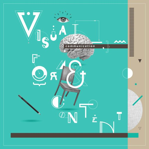 Visual Communication Form & Content Book by Io Woo, via Behance