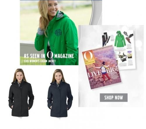 Hurry and get Oprah's Favorite Logan Jacket. On Sale Now! Our bright Kelly Green Jacket is one of her favorites this year. Stay Preppy My Friends!