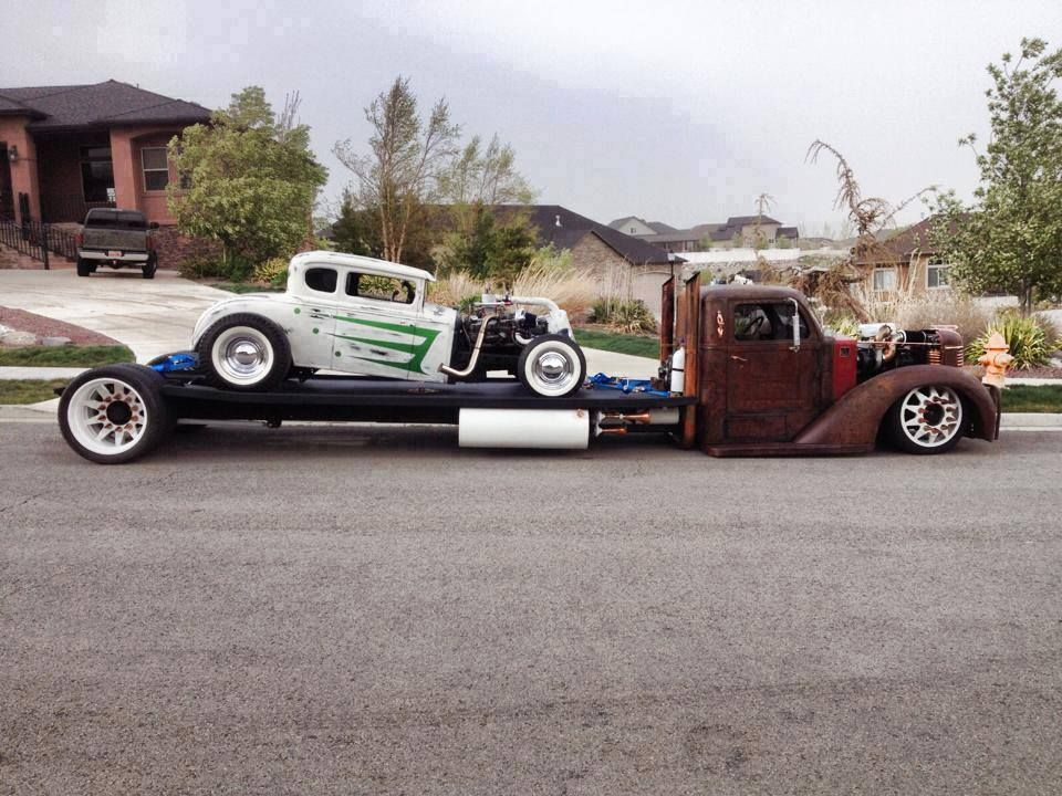 17 best car haulers images on Pinterest | Classic trucks, Vintage ...