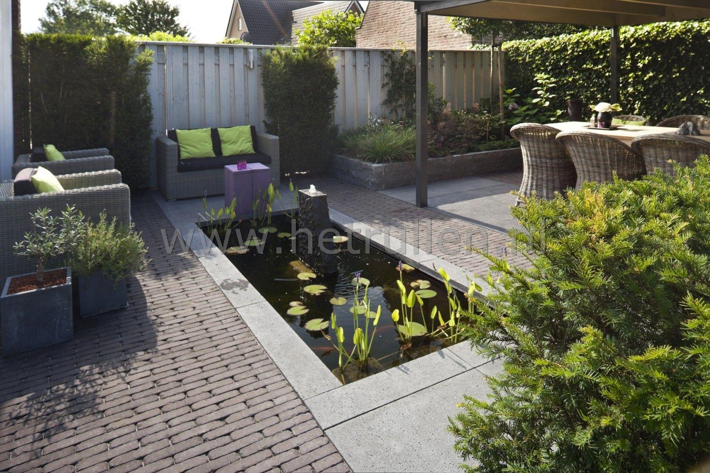 Tuinontwerp tuinaanleg patiotuin kleine tuin eindhoven for Tuin en vijver