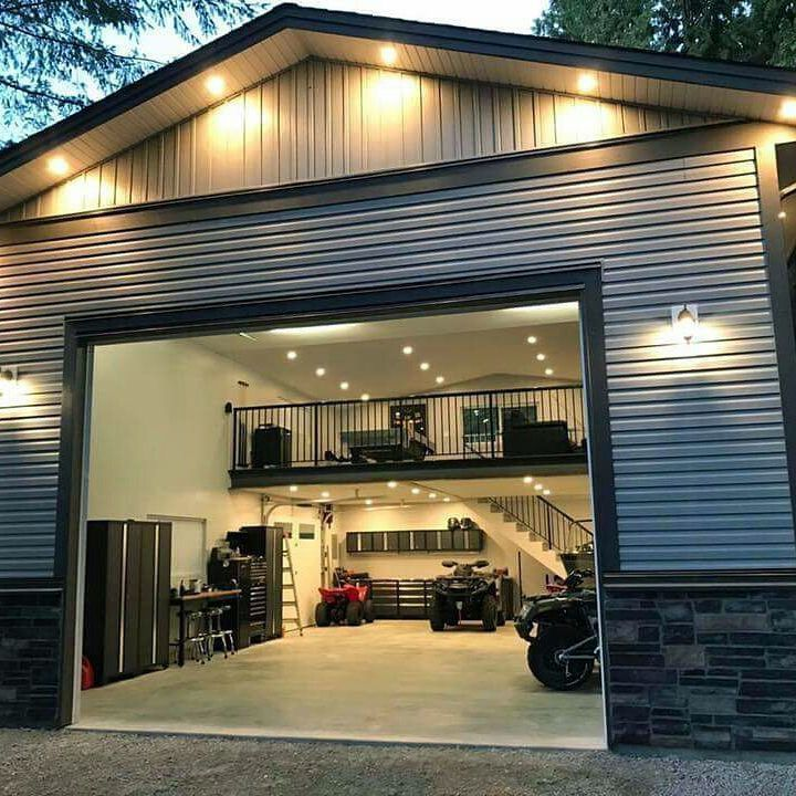 Garage Institution Ideas That Ll Give You Your Car Parking Area Back Plan Domu Plany Malych Domow Nowoczesne Domy