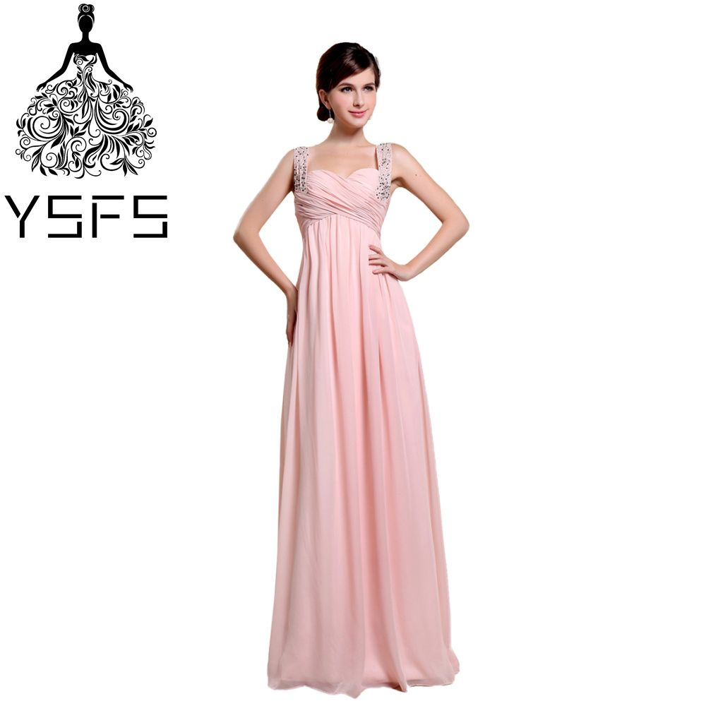 Click to buy ucuc ysfs simple sweetheart pink long evening dresses
