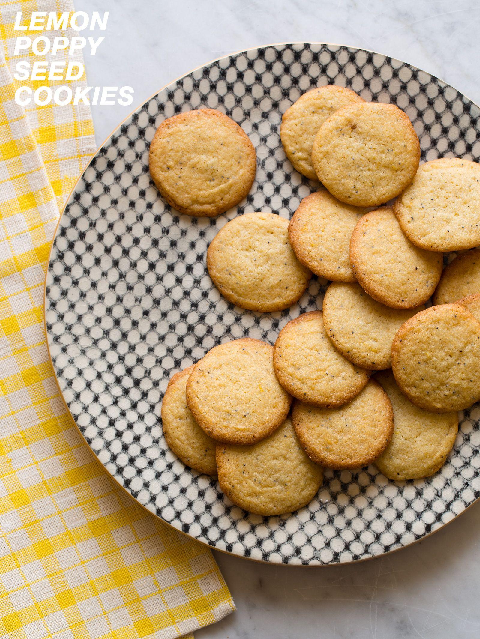 Lemon Poppy Seed Cookies @FoodBlogs