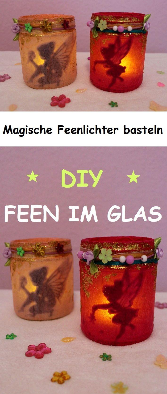 Photo of DIY Fee im Glas: Magische Feenlichter basteln – Fairy – Elfe