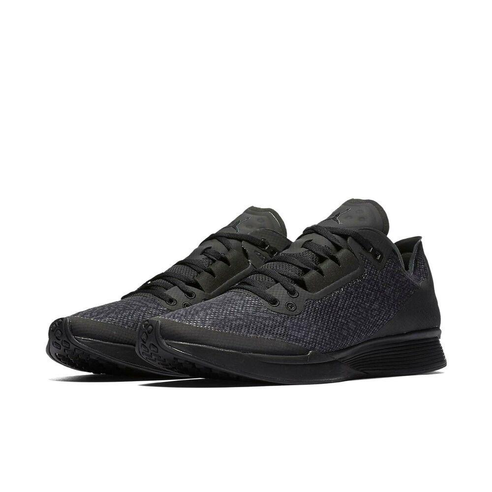half off 3f63d b9b4d Jordan 88 Racer Mens Running Shoes Black Anthracite #Jordan #RunningShoes