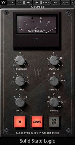 Ssl G Master Buss Compressor Plugin Waves Waves Audio Waves Plugins Audio