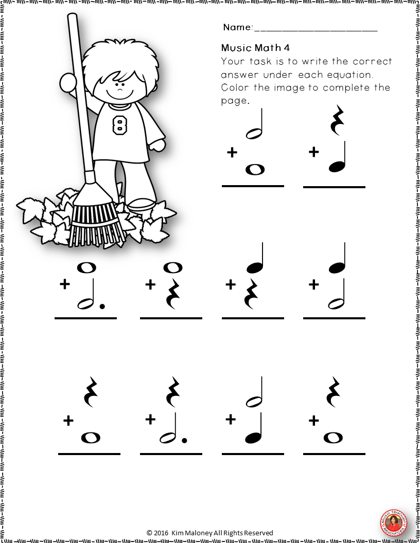 worksheet Music Math Worksheets s media cache ak0 pinimg com originals 2e 6e 73 24 music worksheets aimed at reinforcing students understanding and knowledge of note rest values each math worksheet has an image for