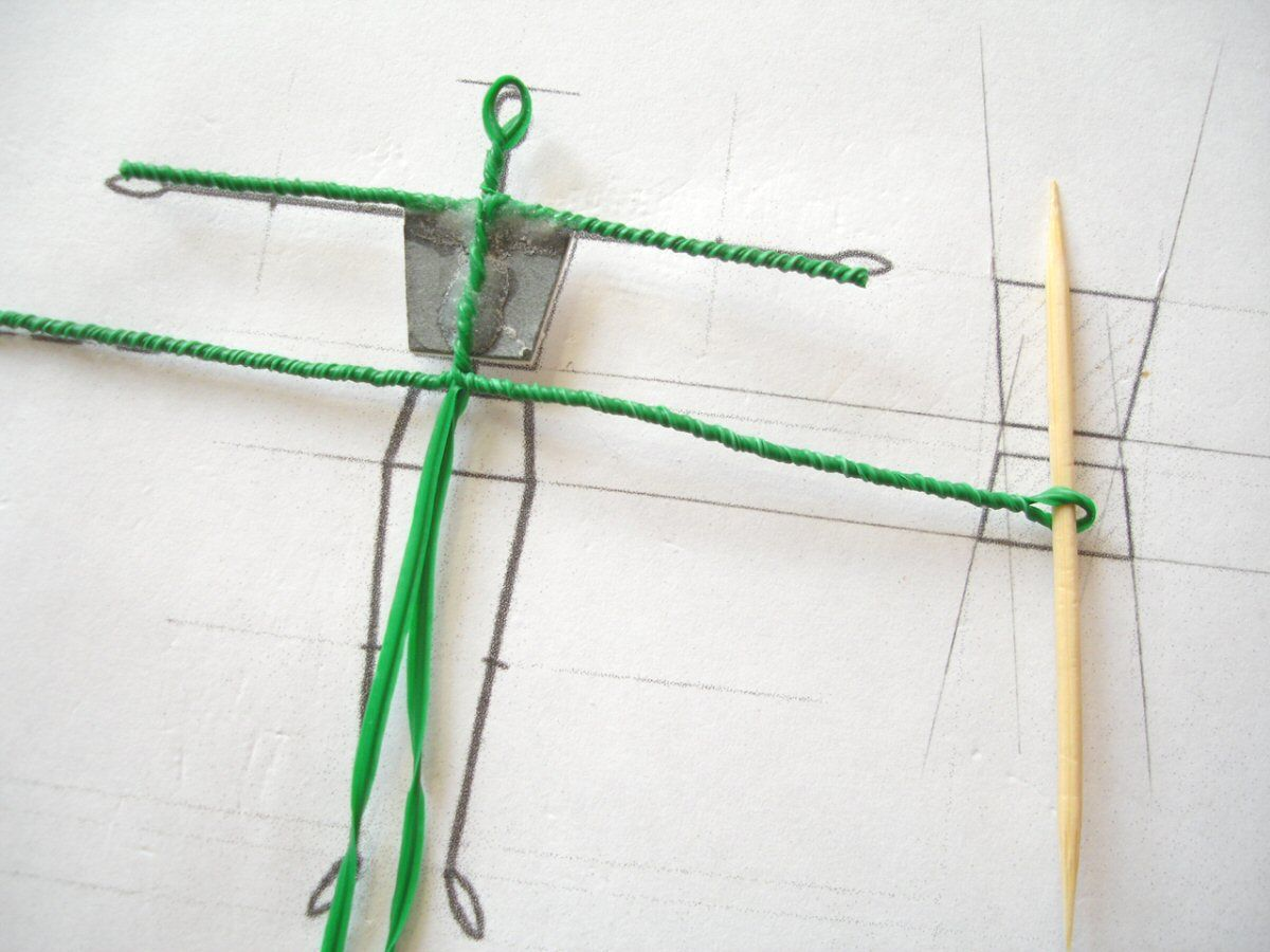 Modelling small-scale figures – Part 1: \'twisted wire\' armature ...