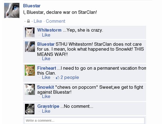 Warrior Cat Videos Bluestar Is Crazeh