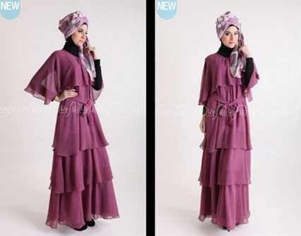 Koleksi Baju Busana Muslim Formal Elegan Terbaru 2016 Contoh Model Baju Muslim Terbaru 2016 Gaya Busana Muslim Baju Muslim