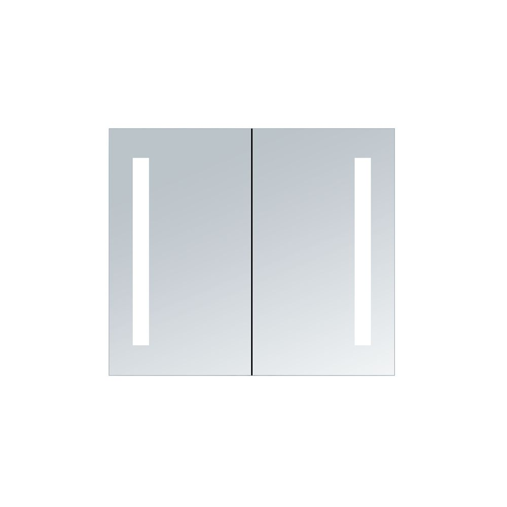 Shop innociusa illumirror double door mirrored medicine