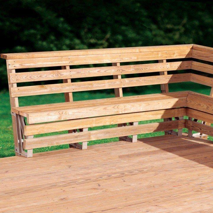 Bench Brackets For Deck Or Dock Elizabeth Pinterest Outdoor