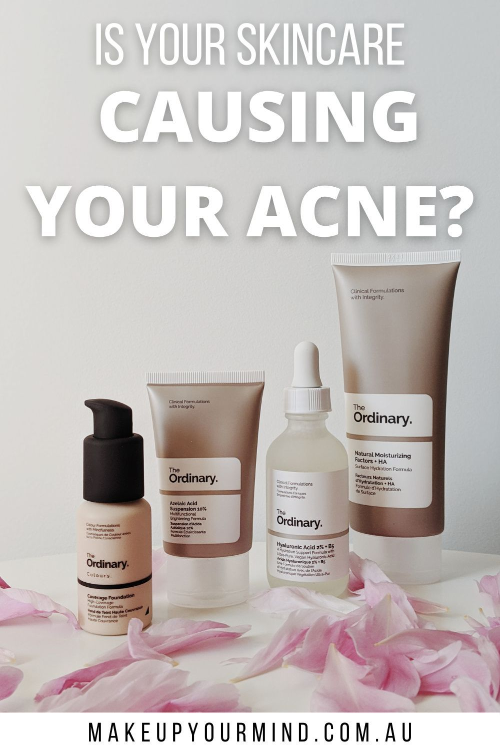 Acne And Why You Re Breaking Out Acne From Skincare In 2020 Skin Care Routine The Ordinary Skincare Routine Skin Care