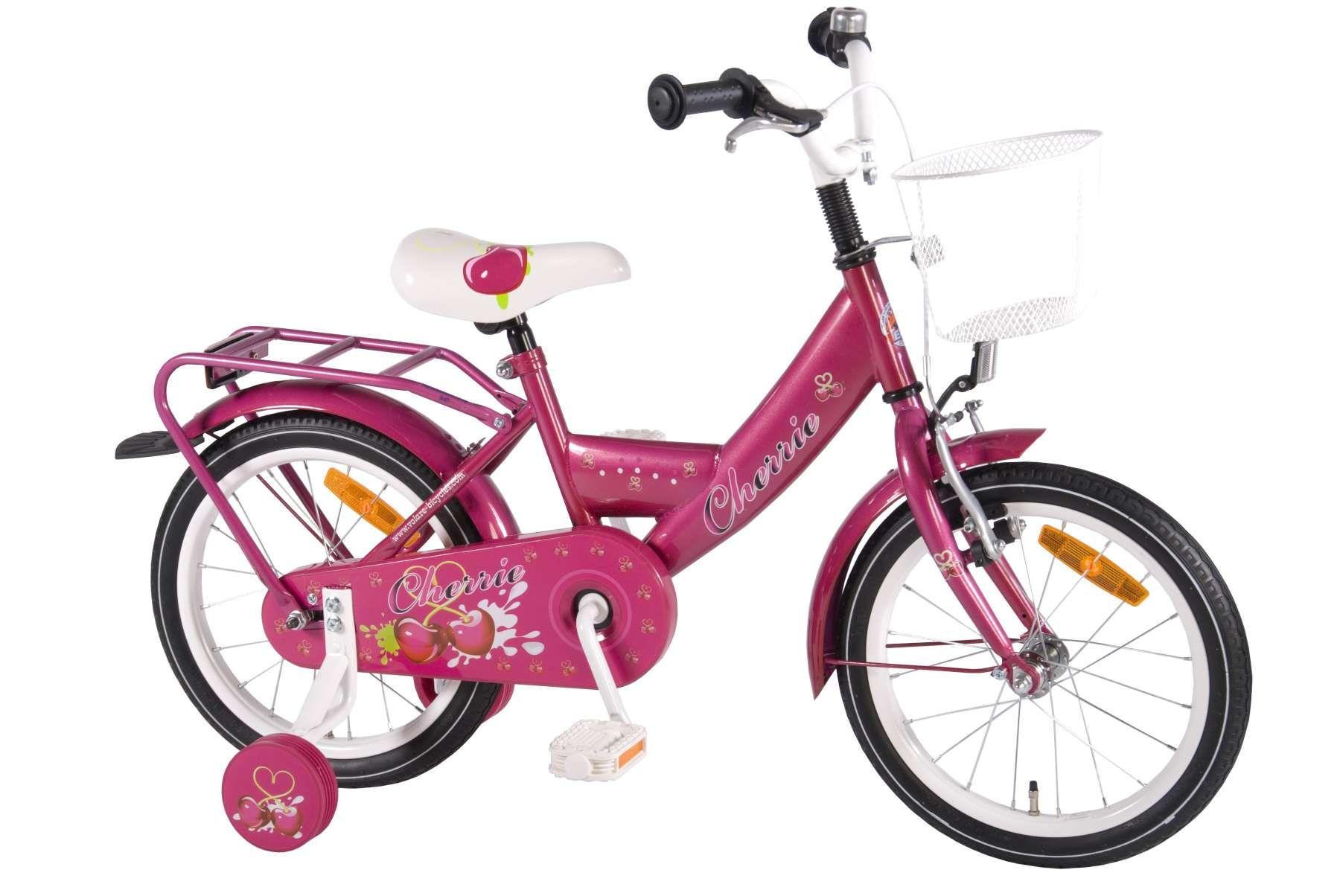 De Volare Cherry heeft een lekker lage instap, metallic roze lak met fris kersendekor. Een echte meisjesfiets, een absolute aanrader. Natuurlijk top kwaliteit voor een betaalbare prijs.