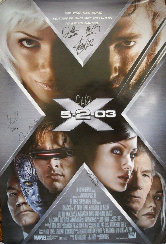 X Men 2 James Marsden Stan Lee Autograph 5 Signed Photo 723 In 2020 X Men Full Movies Wolverine Movie