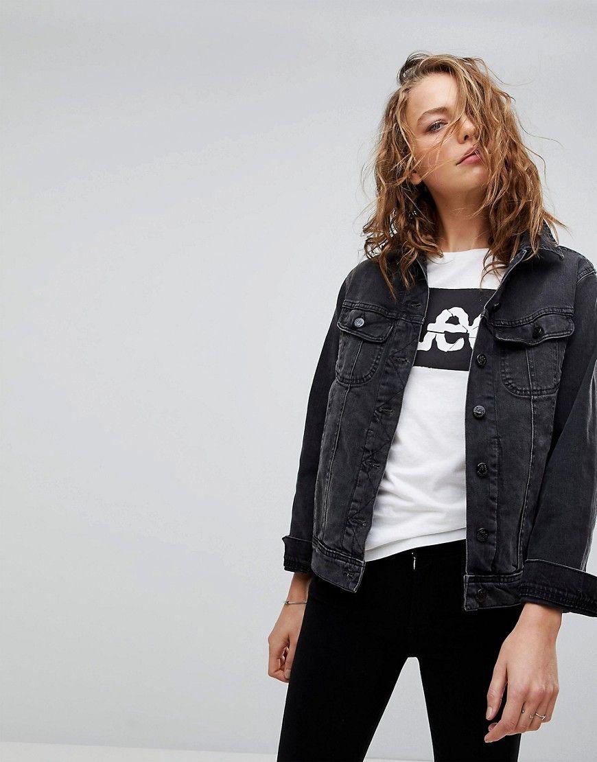 036274b9784 Lee 90s Style Rider Denim Jacket in 2019 | Vintage Chic, Modern ...