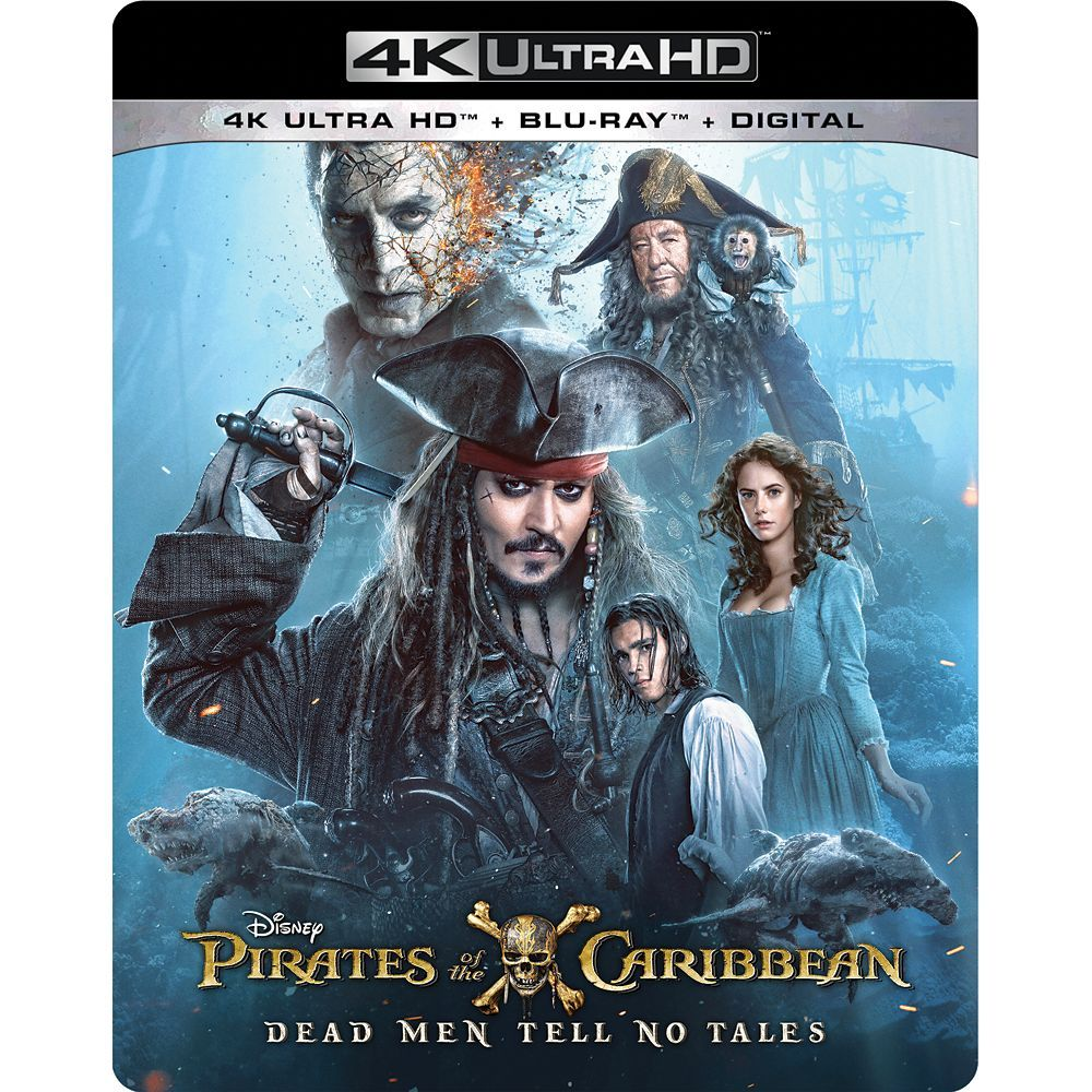 Pirates Of The Caribbean Dead Men Tell No Tales 4k Ultra Hd