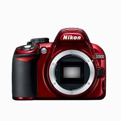 Nikon D3100 Digital Slr Camera Body Red Digital Camera Digital Slr Nikon Accessories