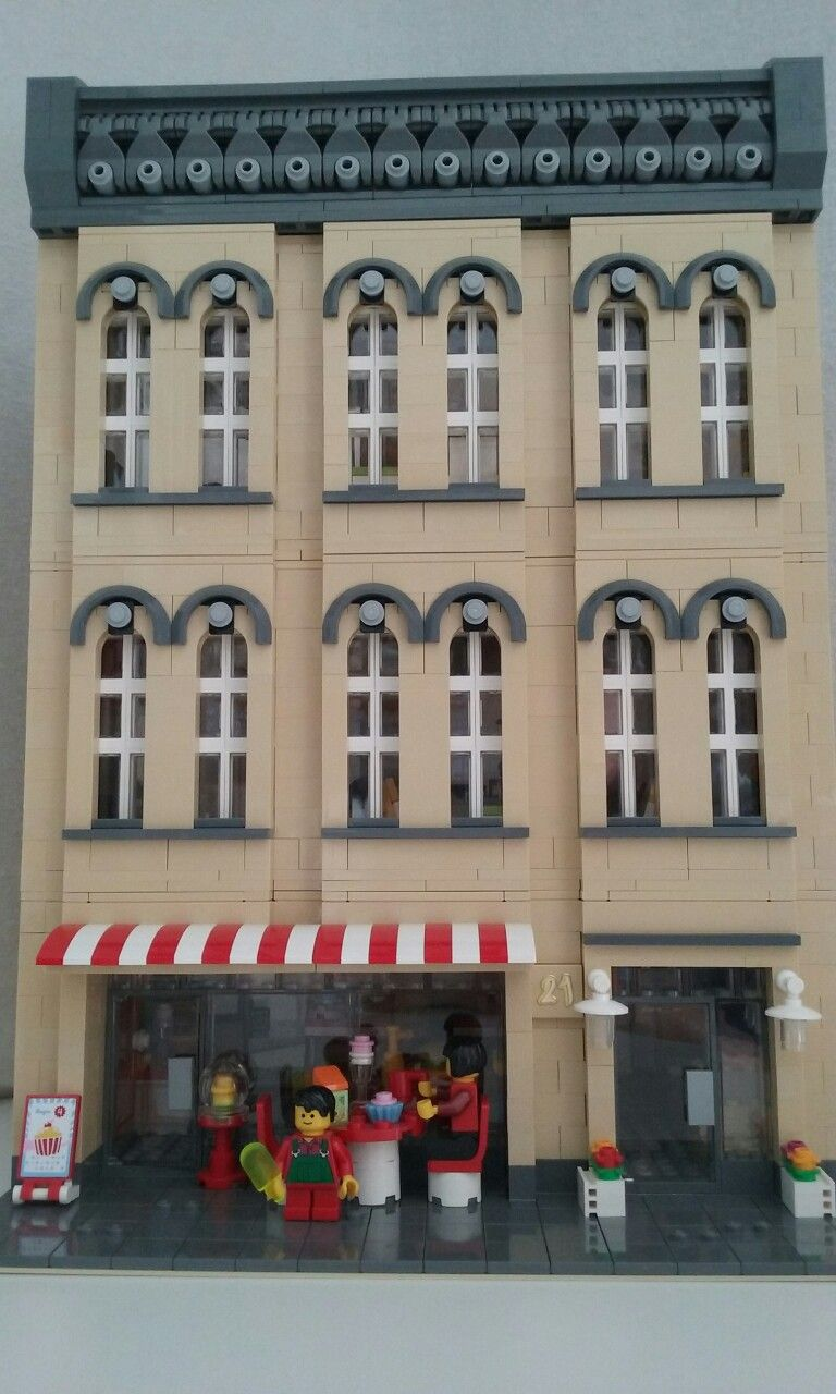 Best Lego Modular Cafe With Separate Modern Apartment 32 640 x 480