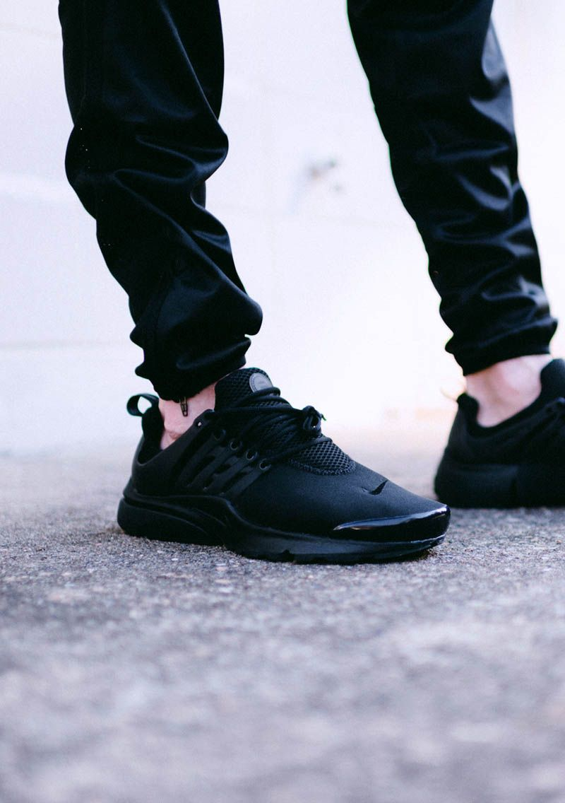 NIKE Air Presto Triple Black | Moda informal masculina