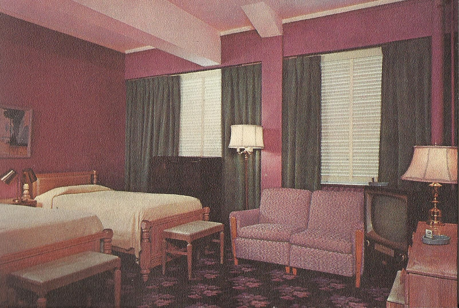 Guest Room Baker Hotel In Mineral Wells Texas