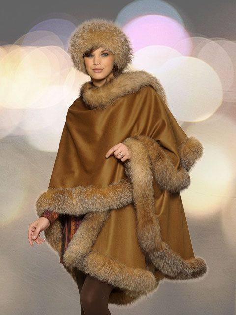 Rainwear & capes with fur | Products I Love | Pinterest ...