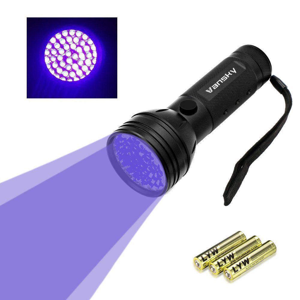 Black Light Uv Lights Uv Flashlight Vansky 51 Led Ultraviolet Blacklight Pet Urine Detector For Dog Cat Urinedry Sta Dog Urine Pet Odors Black Light Flashlight