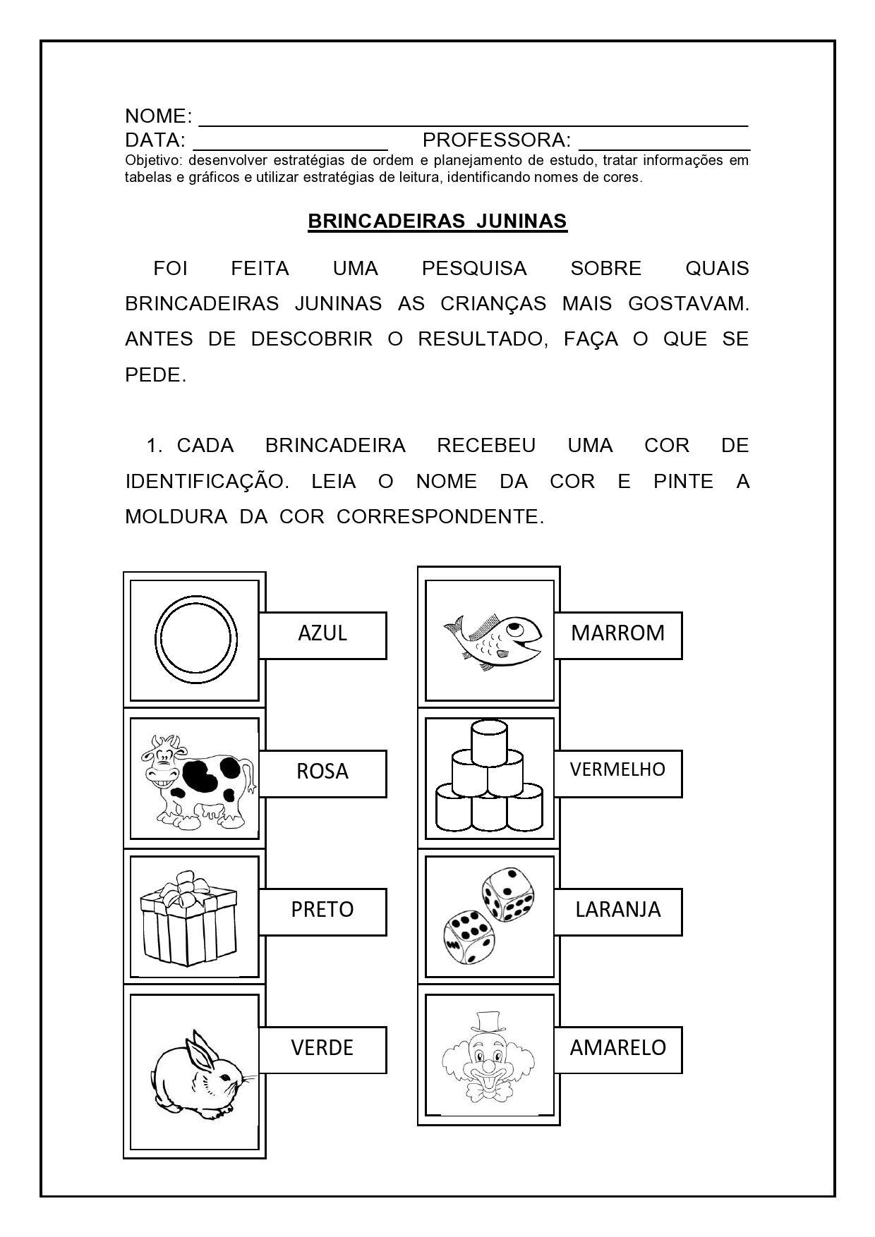Atividade Matematica Festa Junina 6 Jpg 1240 1754 Atividades