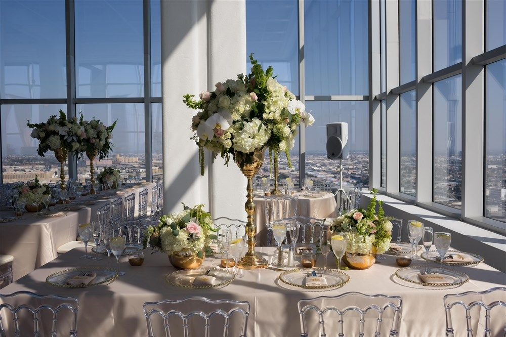 Downtown Los Angeles Penthouse wedding Wedding Catering