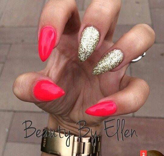 acrylic nails almond - Hledat Googlem