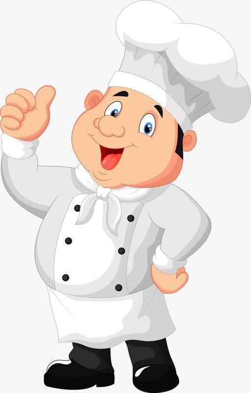 Pin de walderez em wal cozinheira desenho chef de - Cuisinier dessin ...