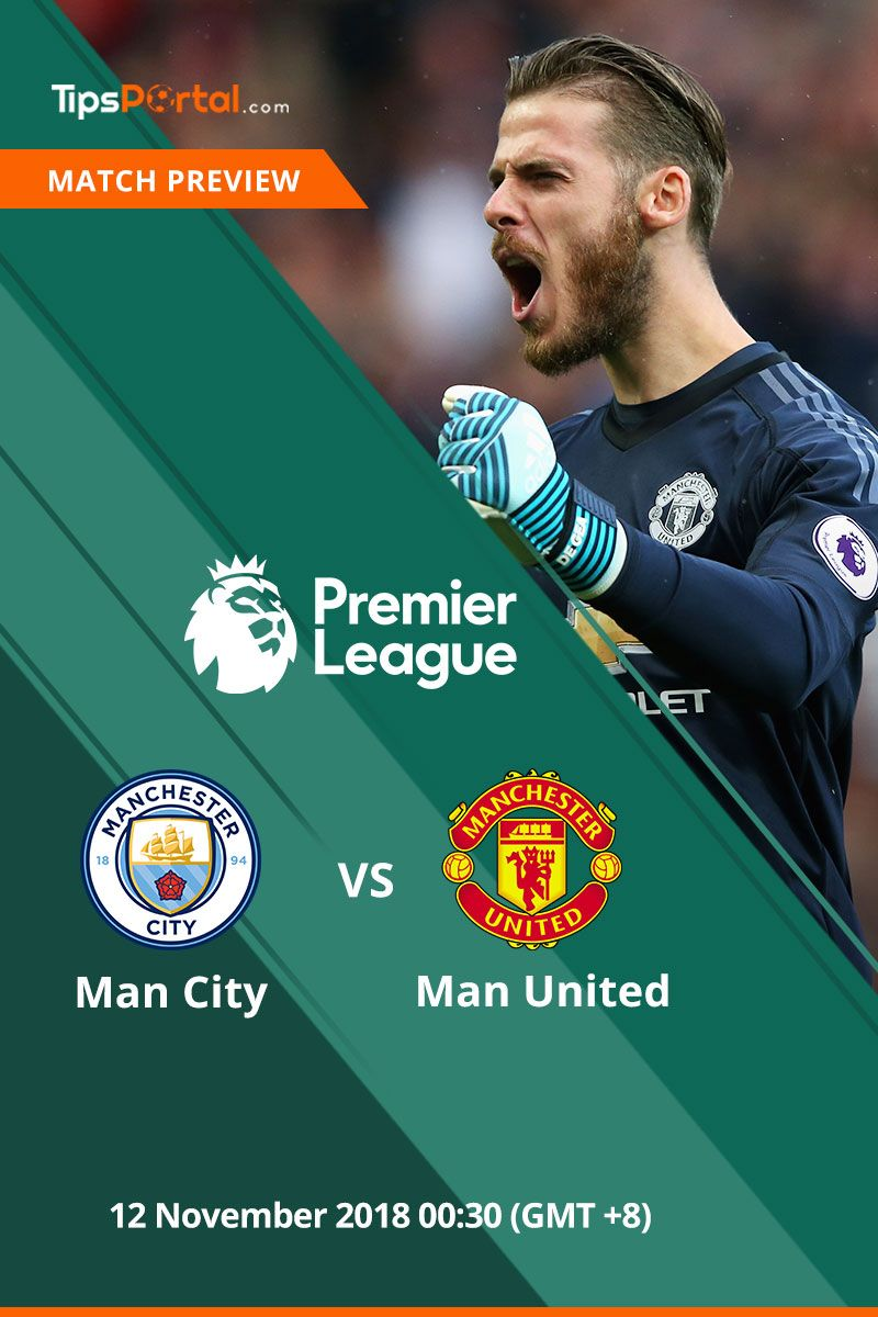 Manchester United Look To Halt Manchester City S March Towards Another Premier League Title When They Visit The Etihad Free Football Premier League Predictions