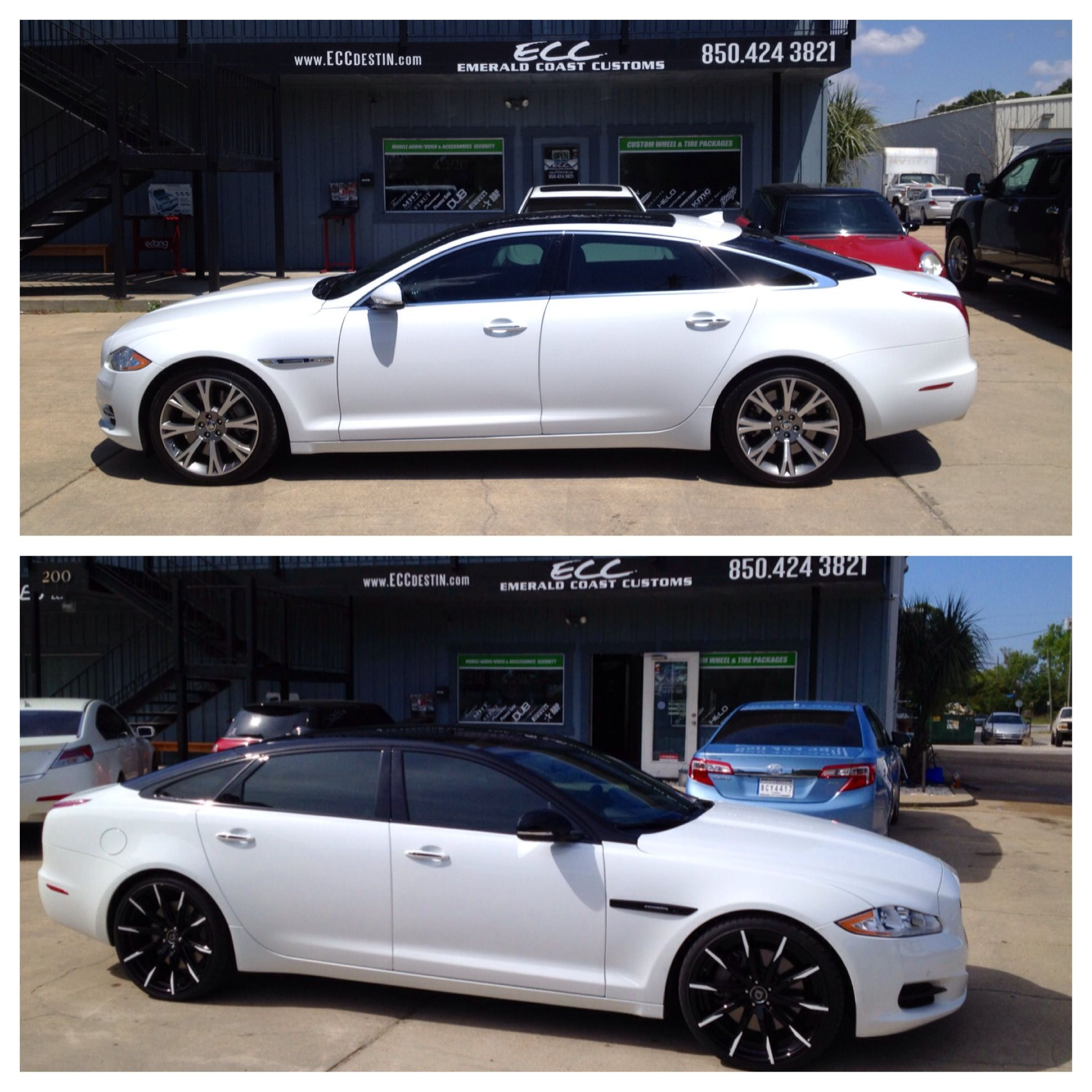2014 Jaguar Xjl Supercharged W Custom Paint 22 Quot Lexani